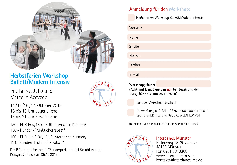 2019 10 Workshop Anmeldung
