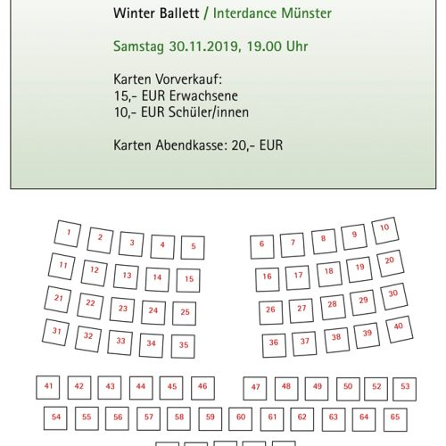 Stuhlplan Winter Ballett 30.11.2019