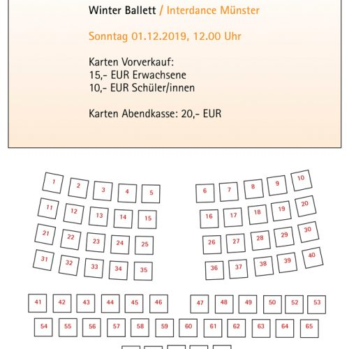 Stuhlplan Winter Ballett 01.12.2019